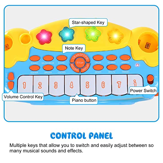 Amazon Drum Set Toy Piano Keyboard Drum Set For Kids Boys