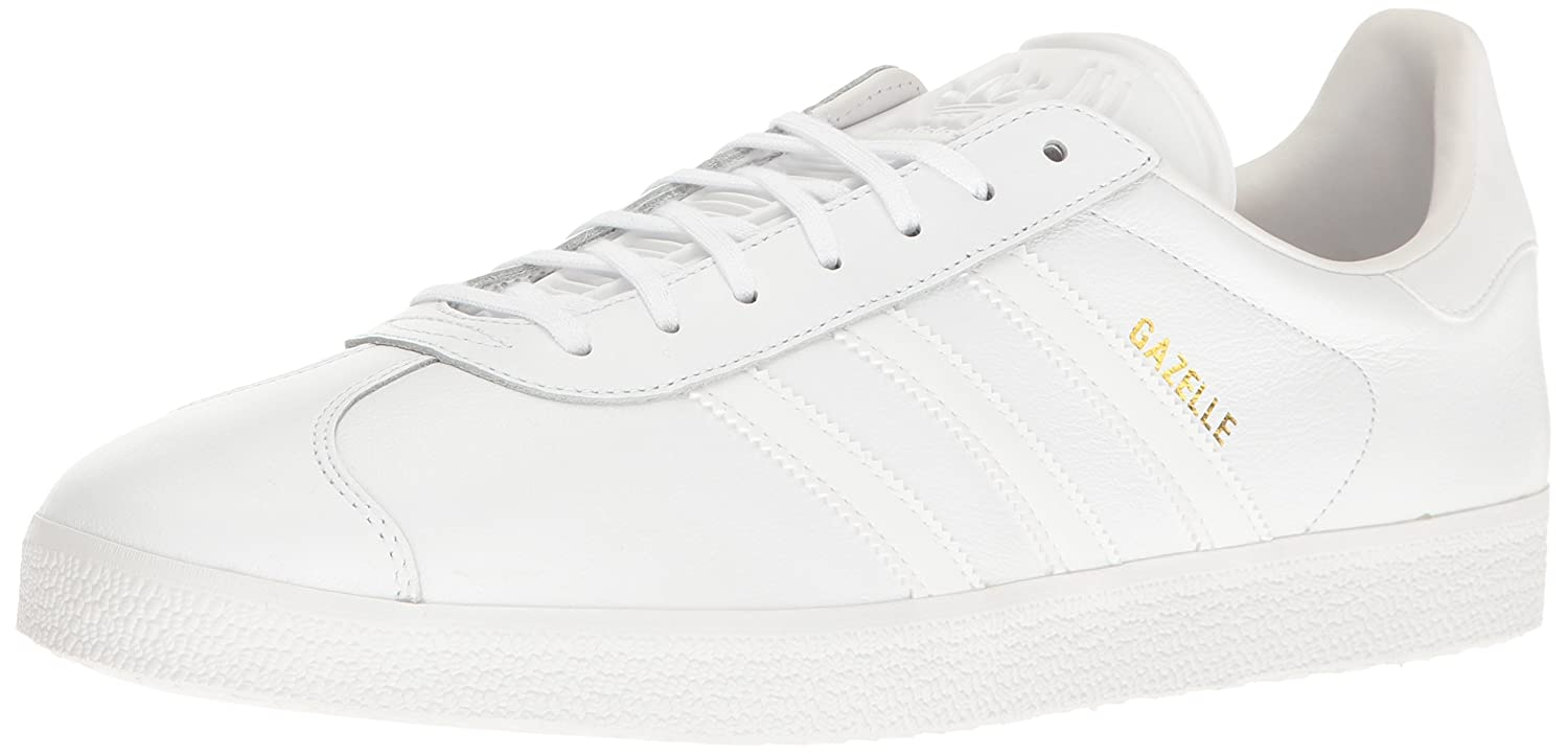 adidas Men's Gazelle Casual Sneakers B01GQ3BQBQ 8.5 D(M) US|White