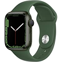 $389 » Apple Watch Series7 GPS, 41mm Green Aluminum Case with Clover Sport Band - Regular