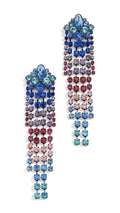 8dc6f8c23 Rebecca Minkoff Womens Gemma Fringe Earrings Multicolor One Size:  Amazon.ca: Jewelry