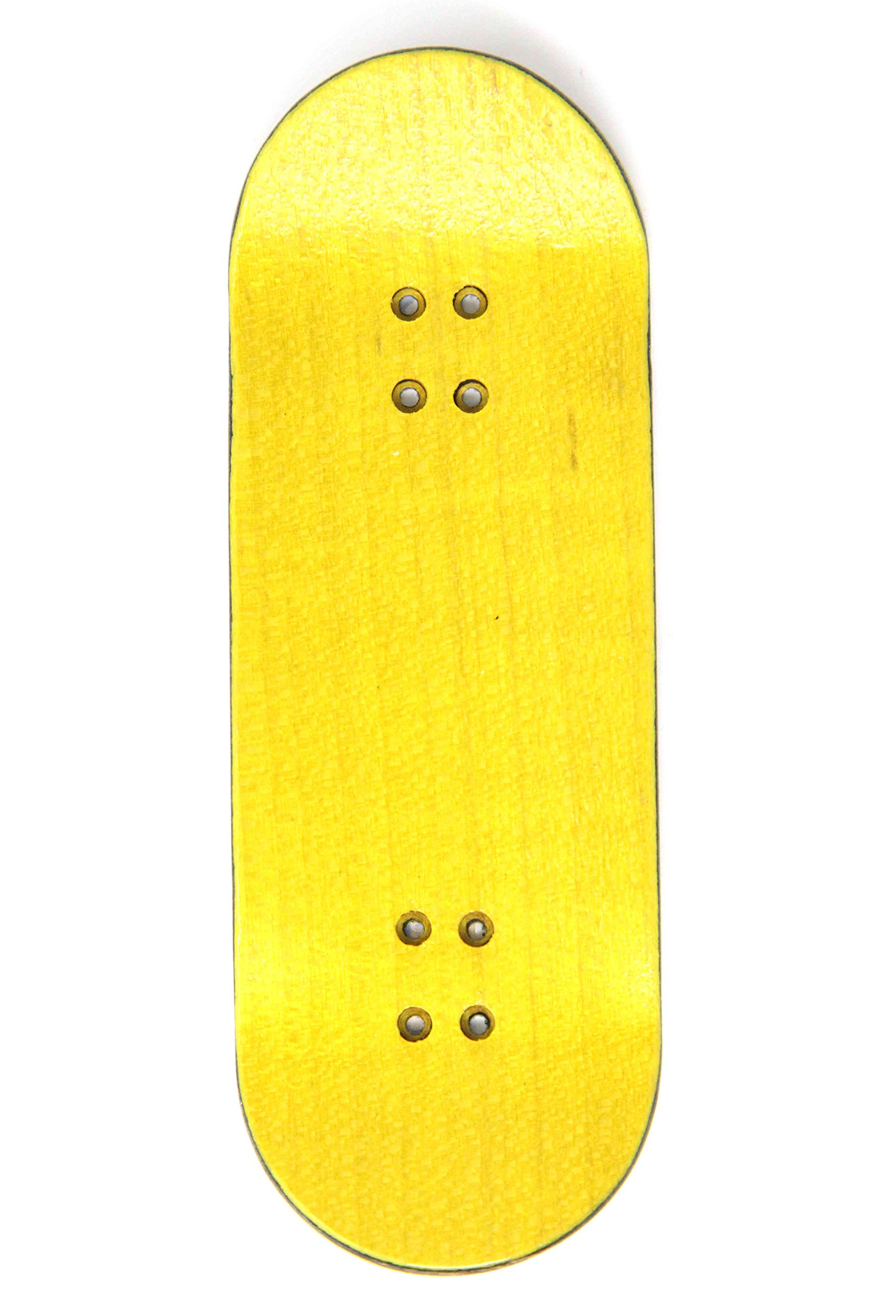 Skull Fingerboards Burning Man 34mm Complete Professional Wooden Fingerboard Mini Skateboard 5 PLY with CNC Bearing Wheels by Skull Fingerboards (Image #3)