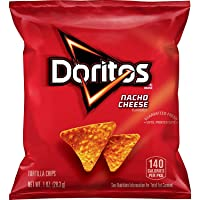 40-Count Doritos Nacho Cheese Flavored Tortilla Chips