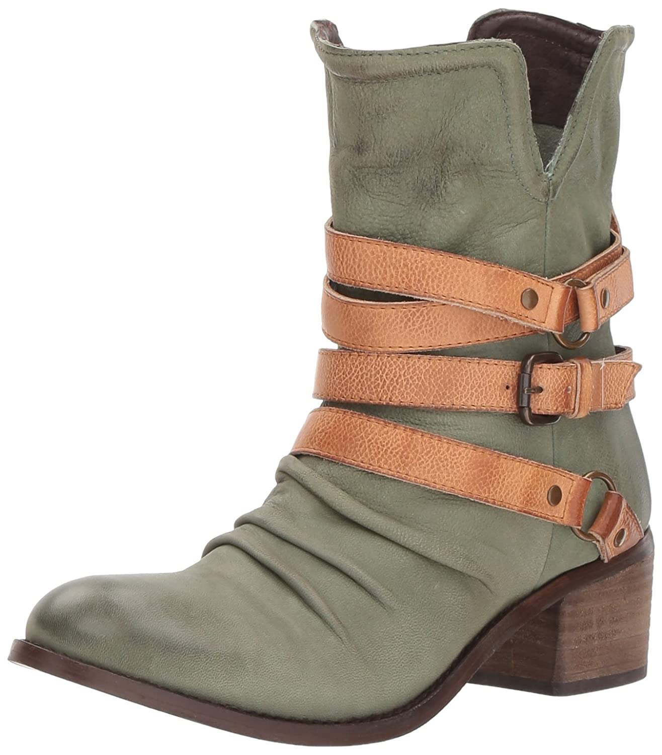 Sbicca Women's Endora B(M) Engineer Boot B06XFYH669 9 B(M) Endora US|Olive 879420