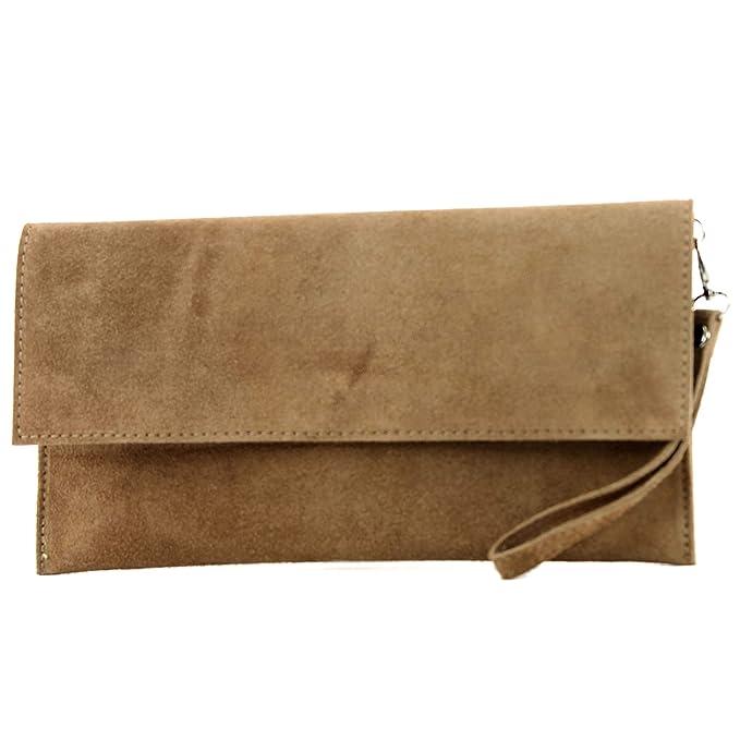 9096a207e377 Modamoda de - ital. Leather bag Clutch Underarm bag Evening bag City ...