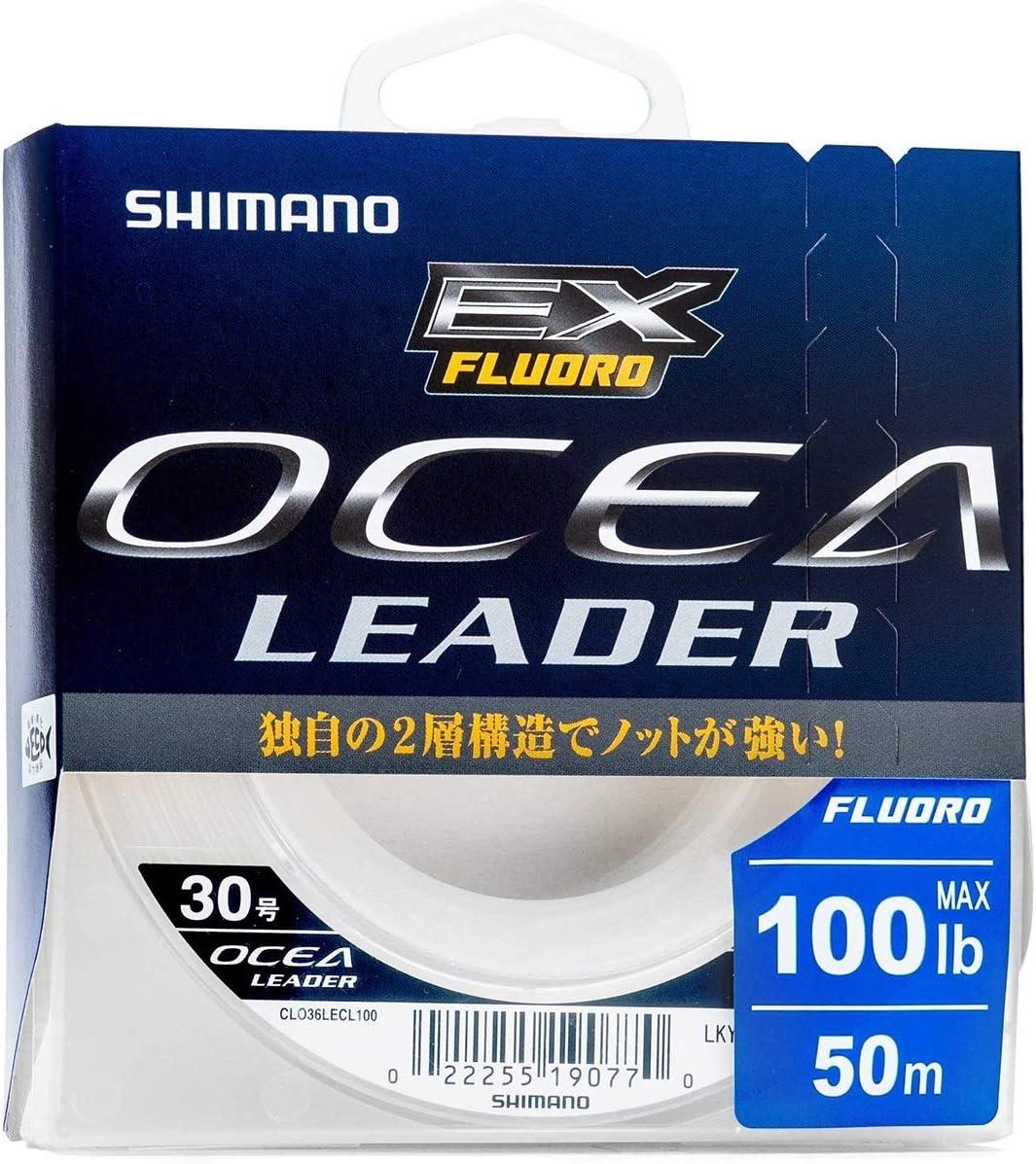 0732 Shimano CL-036L Ocea EX Fluorocarbon Leader Line 50m Size 12 40lb