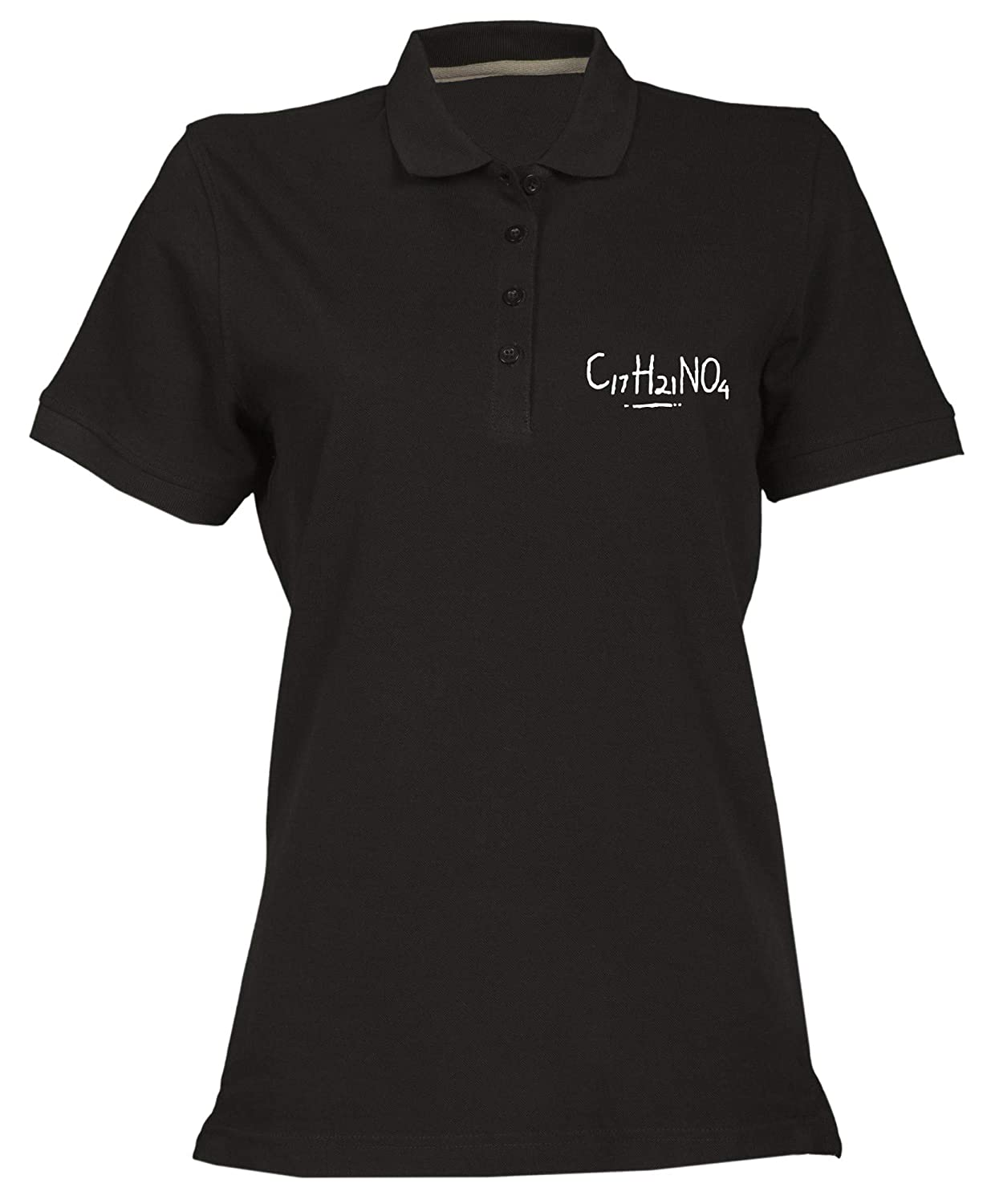 Speed Shirt Polo Donna Nera OLDENG00448 Cocaine
