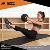 Weighted Slam Ball by Day 1 Fitness - 50 lbs - No