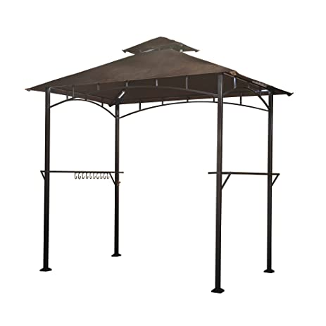 Sunjoy 8x 5 Soft Top Grill Gazebo With
