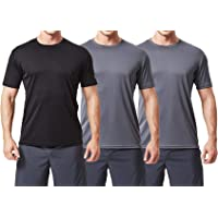 TEXFIT Men's 3 Pack Active Sport Quick Dry T-Shirts (3 pcs Set)