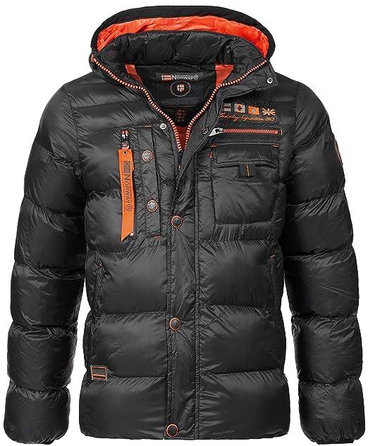 GEOGRAPHICAL NORWAY LUXURY Warm Men's Winter Jacket Parka