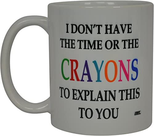 Rogue River Tactical Store Crayons Funny Coffee Mug