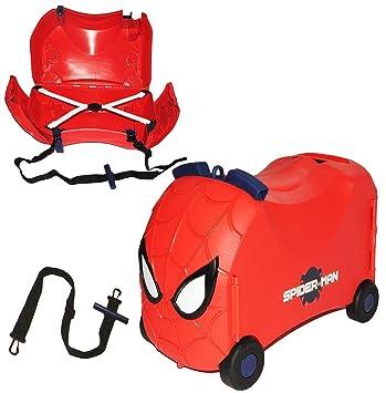 """3-in-1: asiento + maleta con ruedas - - """"Spider"""