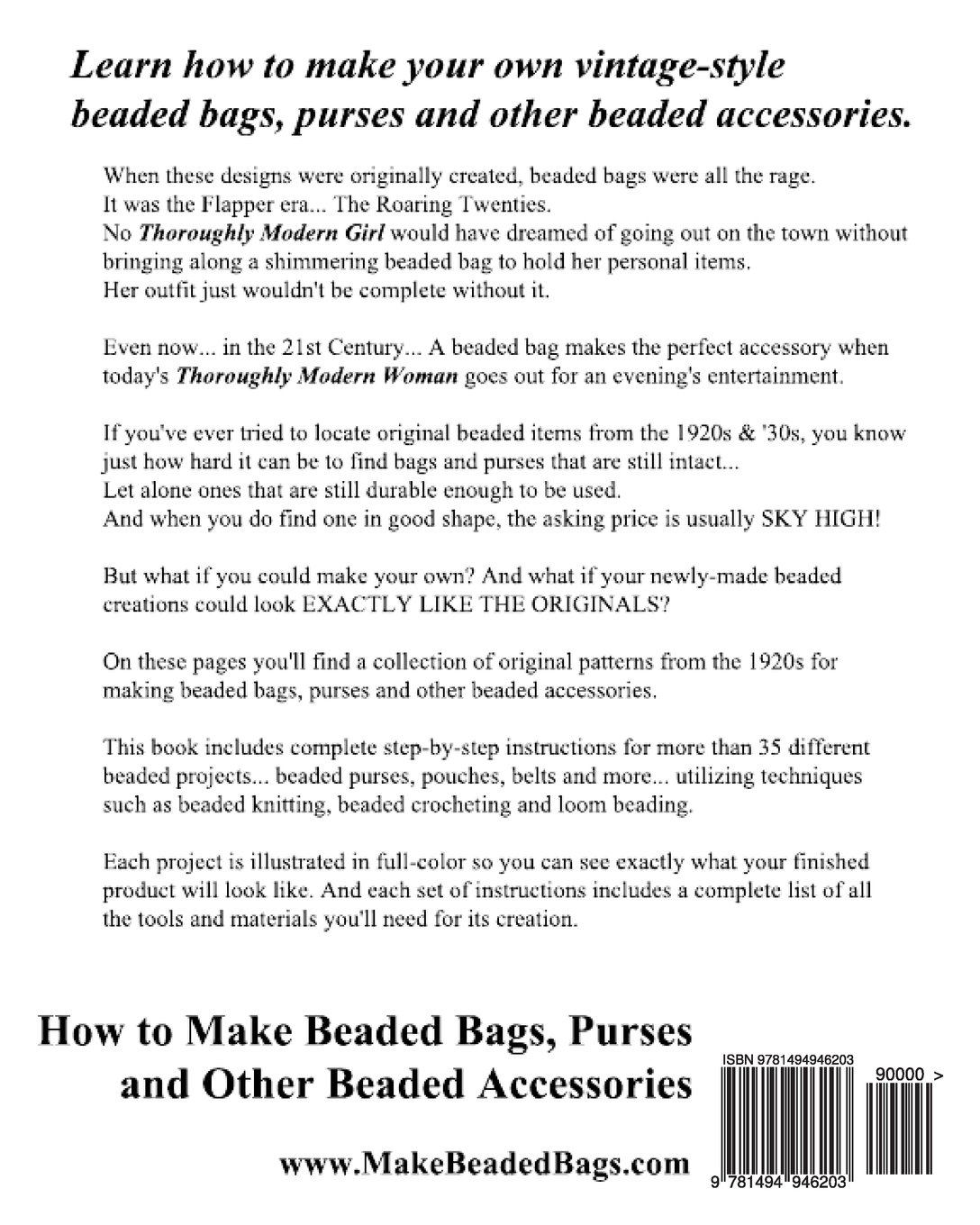 How to Make Beaded Bags, Purses and Other Beaded Accessories: 35 ...
