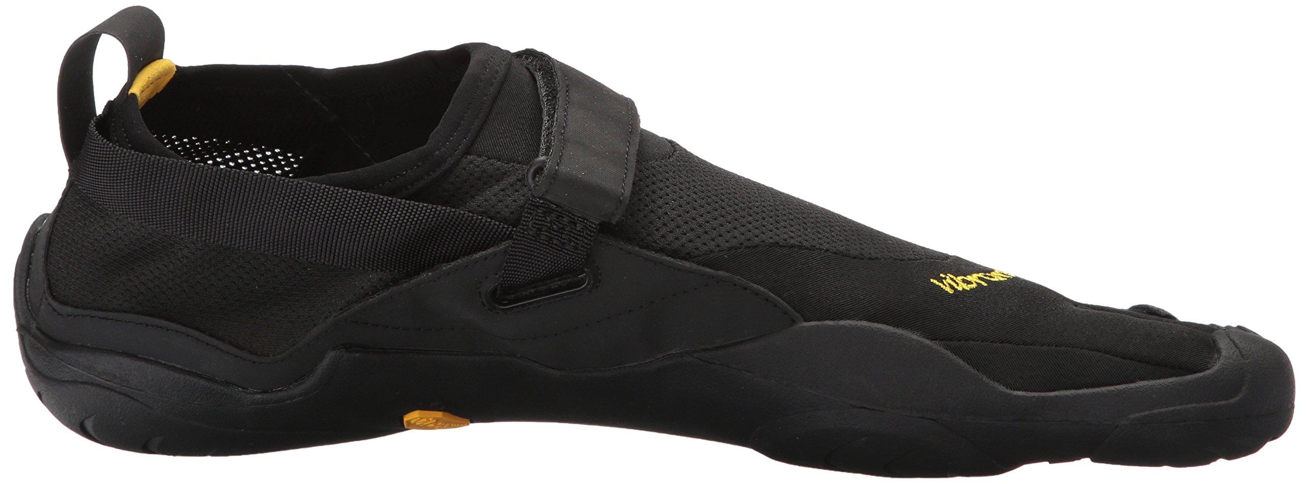 Vibram Men's Five Fingers, KSO EVO Cross Training Shoe Black Black 4.4 M by Vibram (Image #7)