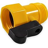 Camco 20003 Straight Garden Hose Valve - Plastic