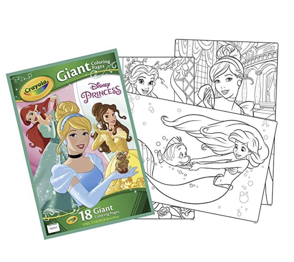 Amazon Crayola Giant Coloring Pages