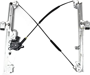 BOXI Front Right Passenger Side Power Window Regulator with Motor for Chevrolet Silverado Tahoe GMC Yukon XL Sierra Escalade Pickup Truck SUV 2002-2006 Replace OE Parts No.: 19120847, 15077854