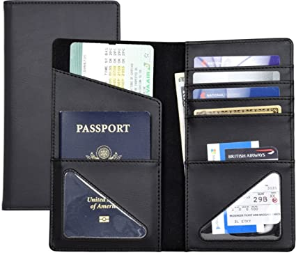 low priced 8dc0b 7b6d9 Passport Wallet, Passport Holder, Passport case, Travel accessory,  Leatherette/Simulated Leather/Vinly