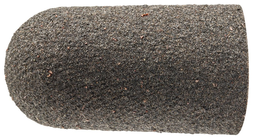 PFERD 46063 Policap Abrasive Cap, Shape L, Aluminum Oxide A, 27/32'' Diameter x 1-9/16'' Length, 150 Grit (Pack of 50)