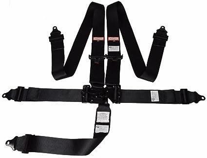 Amazon.com: Racerdirect.net Universal Latch & Link 5 Point SEAT Belt