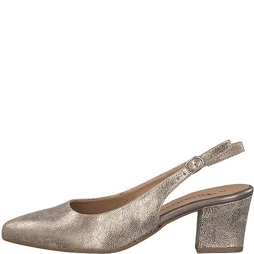 42fe30455c5698 Tamaris Damen Pumps 1-1-29612-20 192 Gold 404042  Amazon.de  Schuhe ...