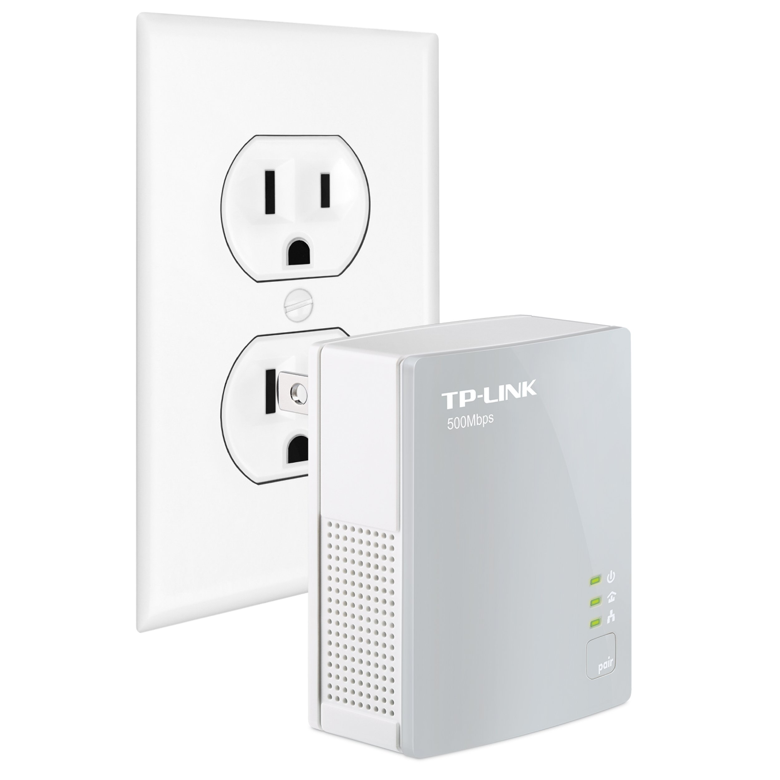 TP-Link AV500 Nano Powerline Adapter, up to 500Mbps (TL-PA4010) by TP-Link