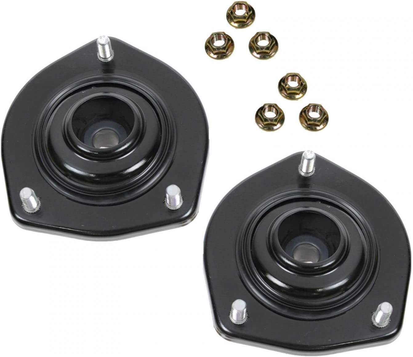 Rear Upper Shock Strut Mount Kit Plate Cushion Pair Set of 2 For Camry Avalon