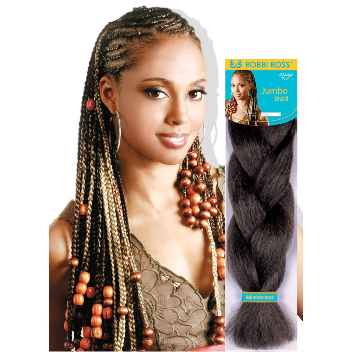 Amazon Bobbi Boss 100 Kanekalon Jumbo Braid 1b Beauty