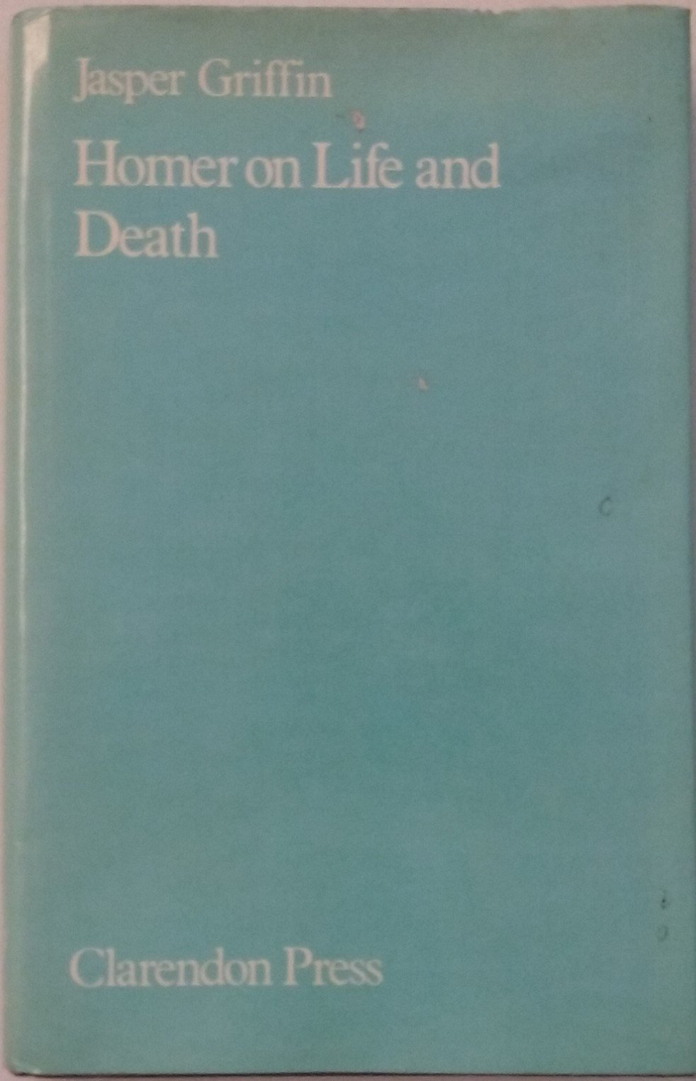 amazon homer on life and death jasper griffin instruction
