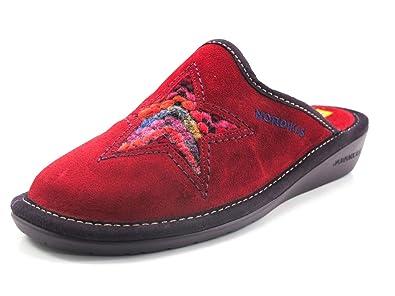 Zapatillas Nordikas Estrella roja - 42: Amazon.es: Zapatos y complementos