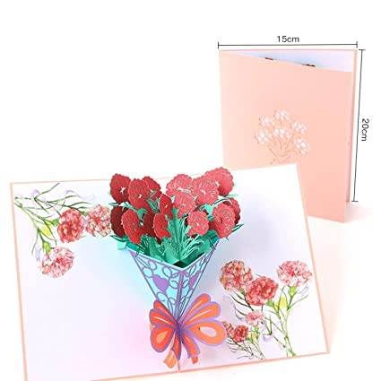 amazon com chitop 1pcs creative pop up card thanksgiving 3d