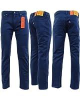 Levi Strauss Navy Navy Blue 511 Slim Leg Jean - 22-45