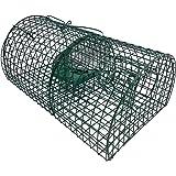 Lebend-Falle 40 cm Multi-Catch Ratten-Falle Mehrfachfalle Tierfalle für Lebendfang von Ratten und ähnlich großen Tieren