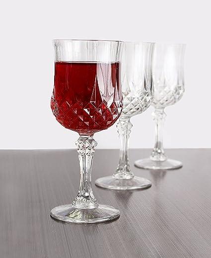 Perfect Amazon.com | Simcha Collection Wine Glasses | Elegant design  MJ41