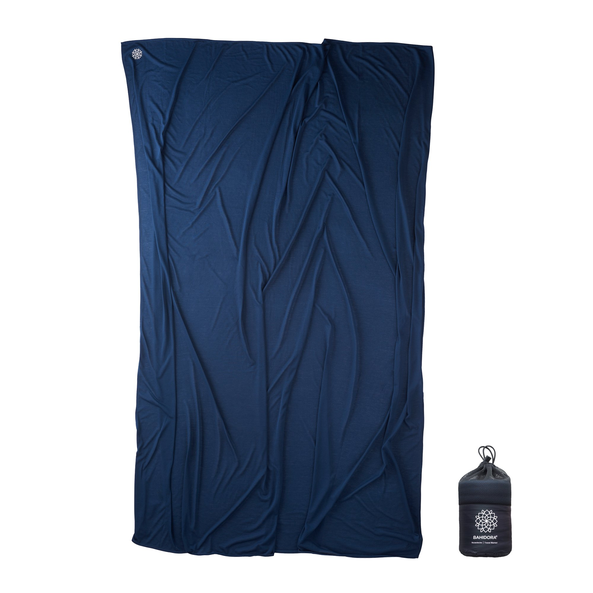Bahidora Travel Blanket, dark blue (Blue) - BAHIDORA-0059