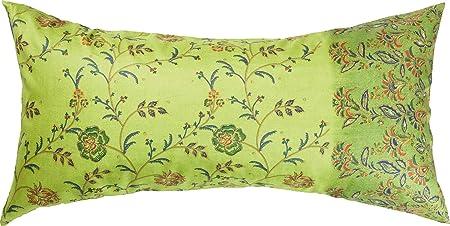 Bassetti MONTEFANO Funda de cojín, algodón, Verde, 40 x 80 ...