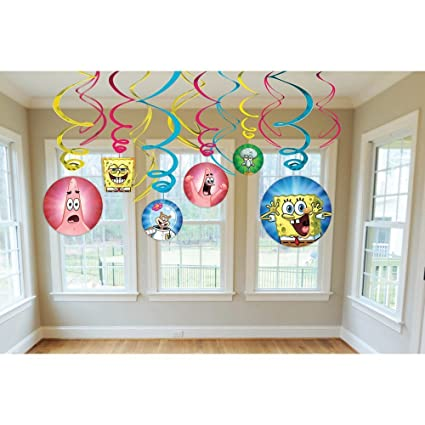 Amazon.com: Nickelodeon Bob Esponja Dangling Swirl ...