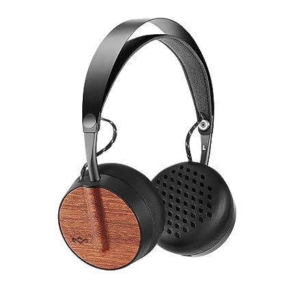 House of Marley EM-JH091-SB - Cascos inalámbricos Bluetooth con Controladores de 40