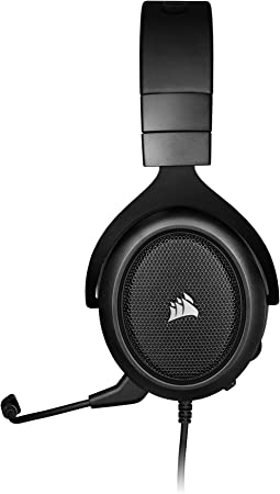 Corsair HS50 PRO Stereo Gaming Headset — Carbon (Renewed): Electronics