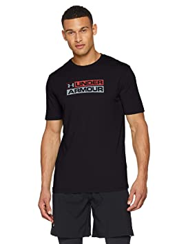 Under Armour UA GL Wordmark SS T Camisa, Hombre: Amazon.es: Deportes y aire libre