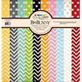 Bo Bunny American Crafts BBU10316777 Chevron Double Dot Collection Pack