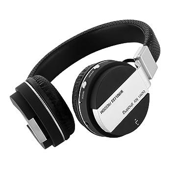 gspon plegable auriculares inalámbricos Bluetooth auriculares de auriculares, estéreo, micrófono incorporado para Smartphones, tabletas, PC: Amazon.es: ...