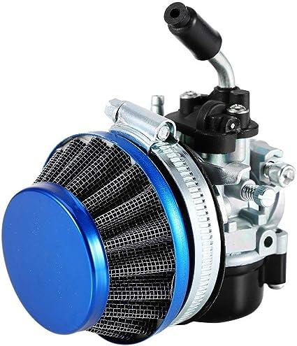LanLan Racing carburador Air Filtro 49 cc-80cc 2 Tiempos Bicicleta ...