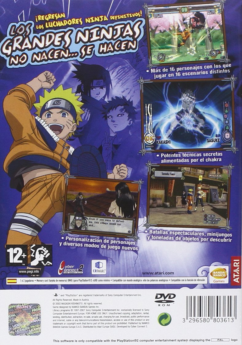 Naruto Ultimate Ninja 2: Amazon.es: Videojuegos