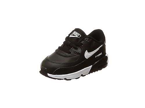 reputable site 4afb9 ad1b4 Nike Air Max 90 LTR (TD), Chaussons Mixte bébé, (Black