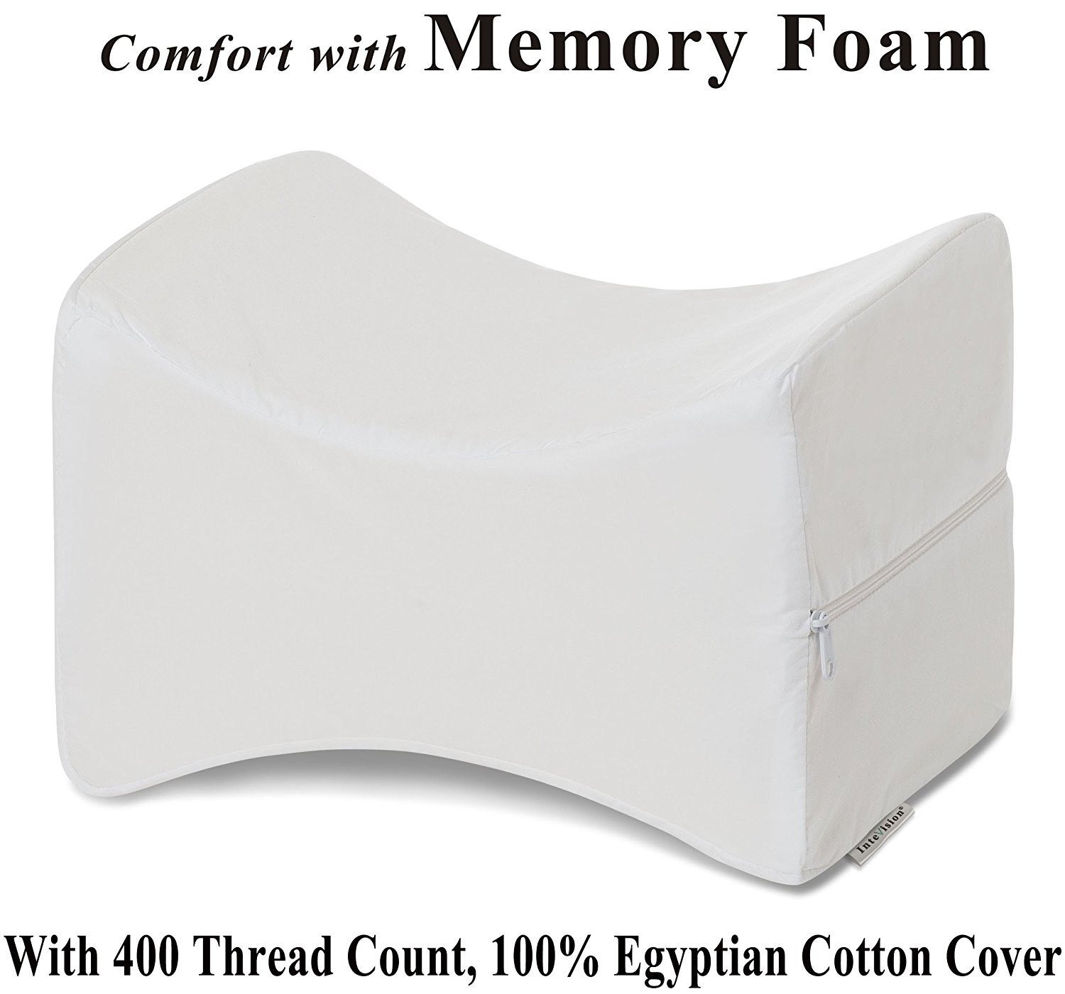 InteVision Knee Pillow with High Quality, Removable Cover CFP 39