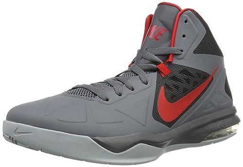Nike Air MAX Body U, Zapatillas de Baloncesto para Hombre, Black, 41 EU: Amazon.es: Zapatos y complementos