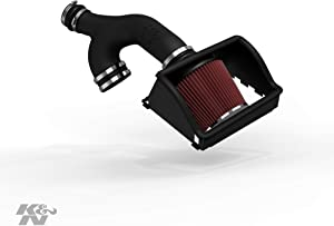 K&N Cold Air Intake Kit: High Performance, Guaranteed to Increase Horsepower:2017-2019 Ford/Lincoln (Expedition, F150, F150 Raptor, Navigator) 3.5L V6,63-2599