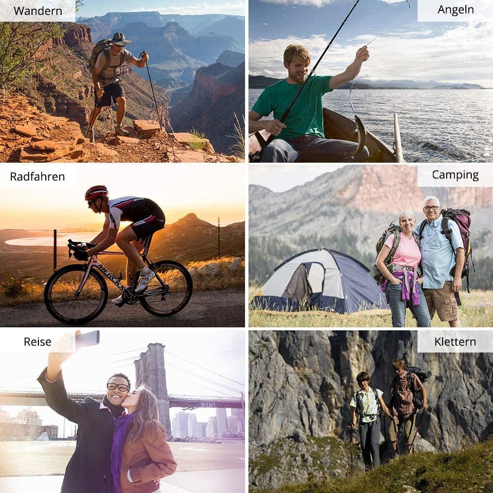 accesorios para senderismo reutilizable ciclismo camping y viajes Chubasquero transparente de Hauserlin ropa de lluvia Eva chubasquero impermeable para hombre y mujer