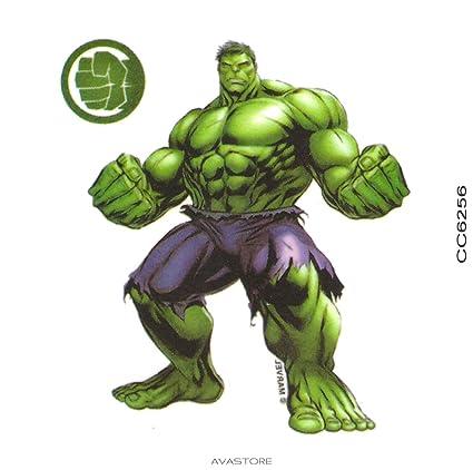 Tatuaje Temporal Hulk - Tatuaje efímero Hulk - - Pastilla 1 ...